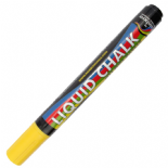 Yellow Rainbow chalk 5mm Chisel Nib Liquid Chalk Marker